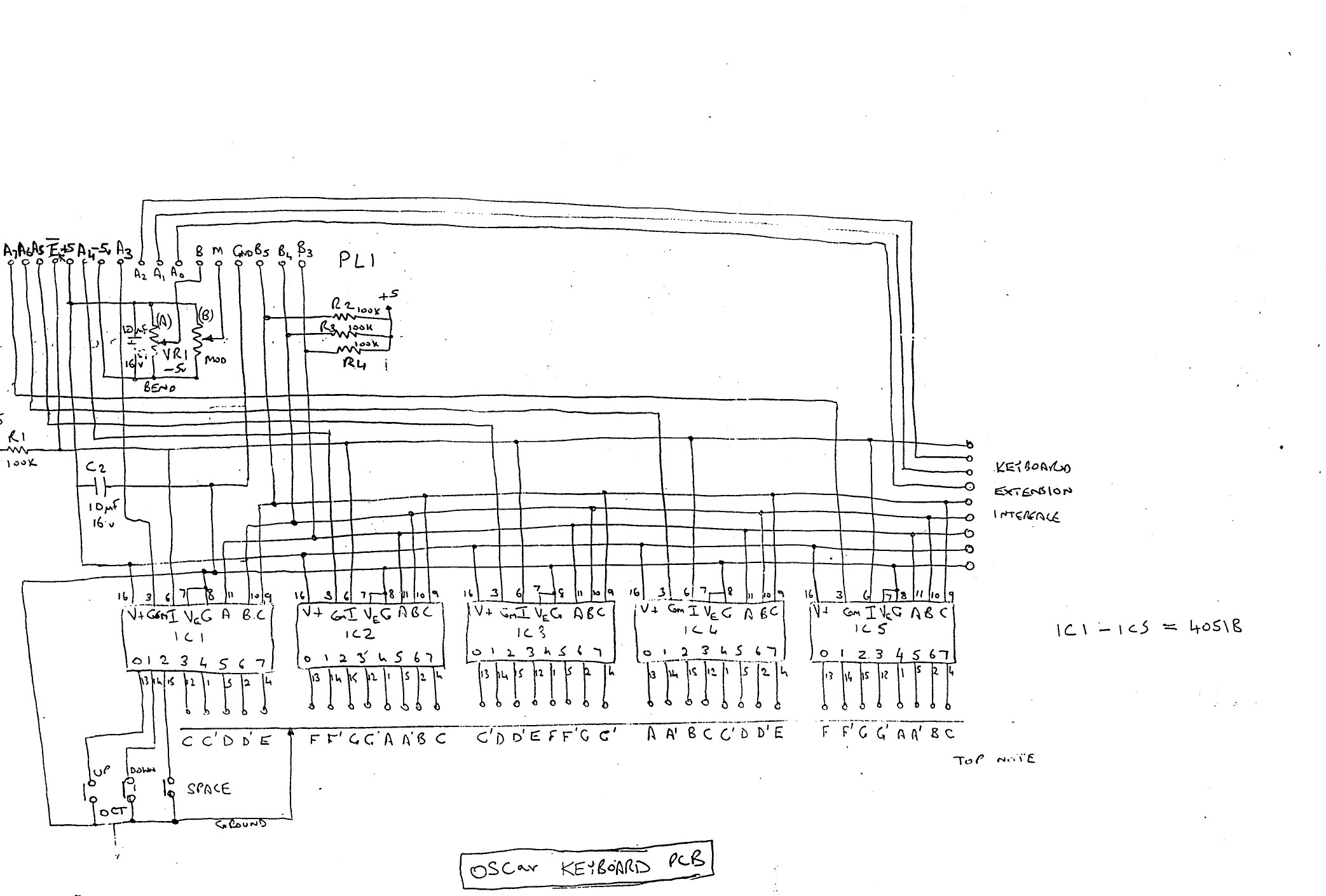 Oscar Schematics D A Converter Circuit Diagram Tiff Files
